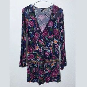 One September Anthropologie Floral Tunic
